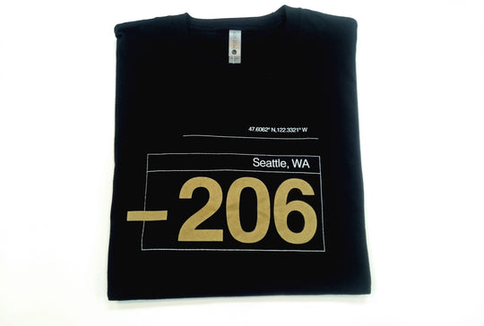 SEATTLE 206 ~ T-shirt
