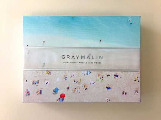 Gray Malin BEACH Double-sided 500 Piece Puzzle