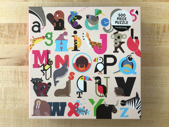 Animals A to Z Puzzle