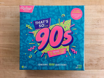 That's So 90s Trivia Game