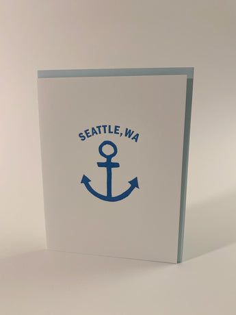 Seattle, Wa anchor card