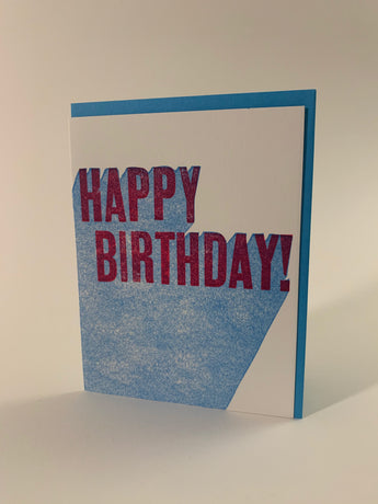 Happy Birthday 3d card