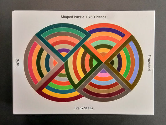 Frank Stella Shaped Puzzle