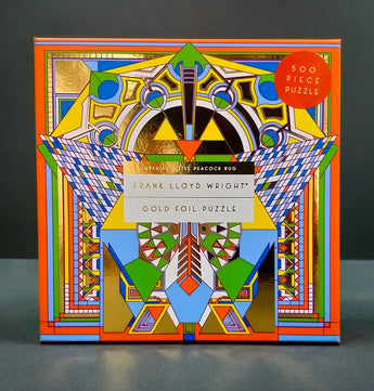 Frank Lloyd Wright: Gold Foil Puzzle