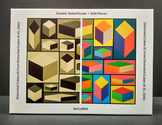 Distorted Cubes Double-sided Puzzle
