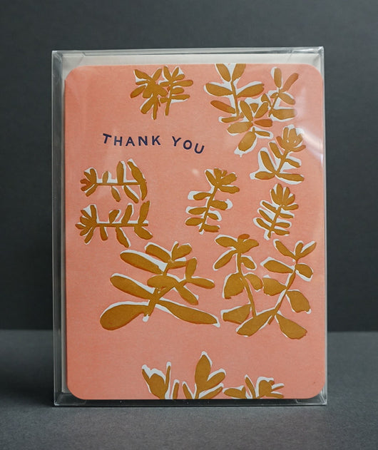 Pink Thank You Card Box Set