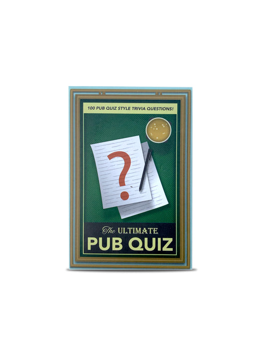 Pub Quiz Trivia cards