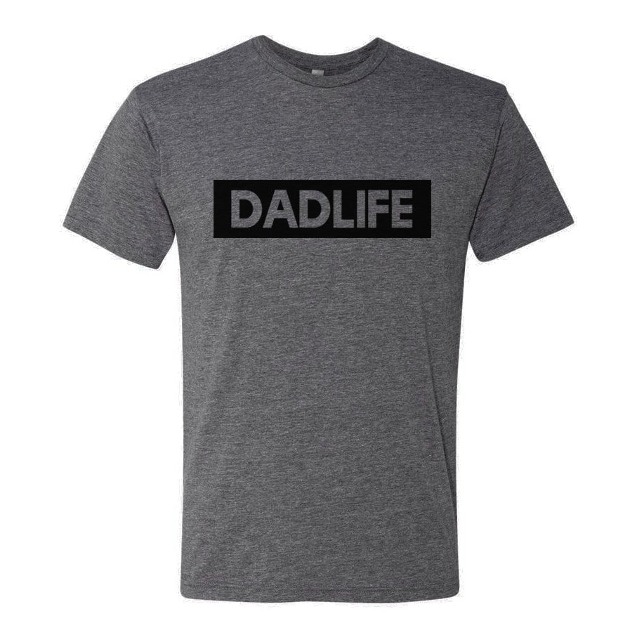 """Dad Life"" Grey Mens Tee"
