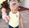 Pink Pineapple Organic Top Knot Headband