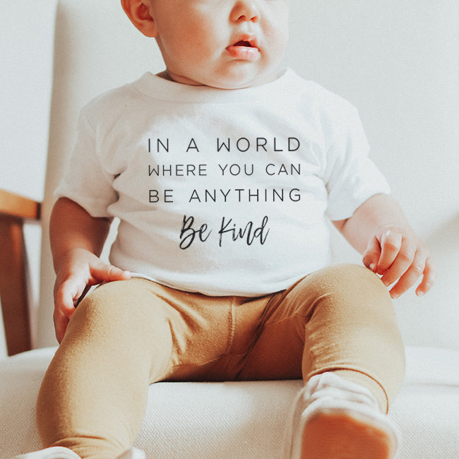 """Be Kind"" Child T-Shirt White"
