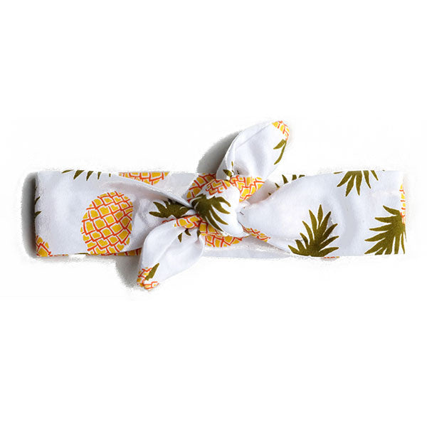 Pineapple Top Knot Headband