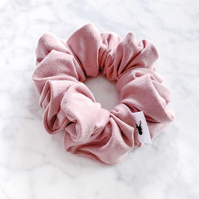 Vintage Rose Hair Scrunchie