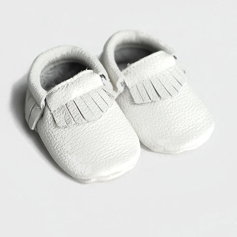 Baby/Toddler Moccs - White