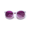 Trendy White Child Sunglasses