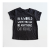 """Be Kind"" Child T-Shirt Dark Grey"