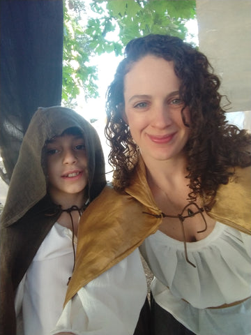 DIY costumes at renaissance faire