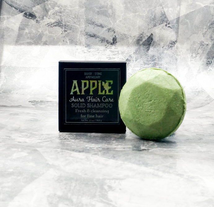 Apple Aura Solid Shampoo