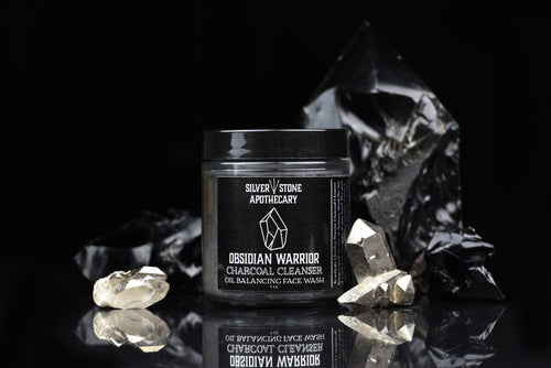 Obsidian Warrior Charcoal Cleanser Oil Balancing Face Wash