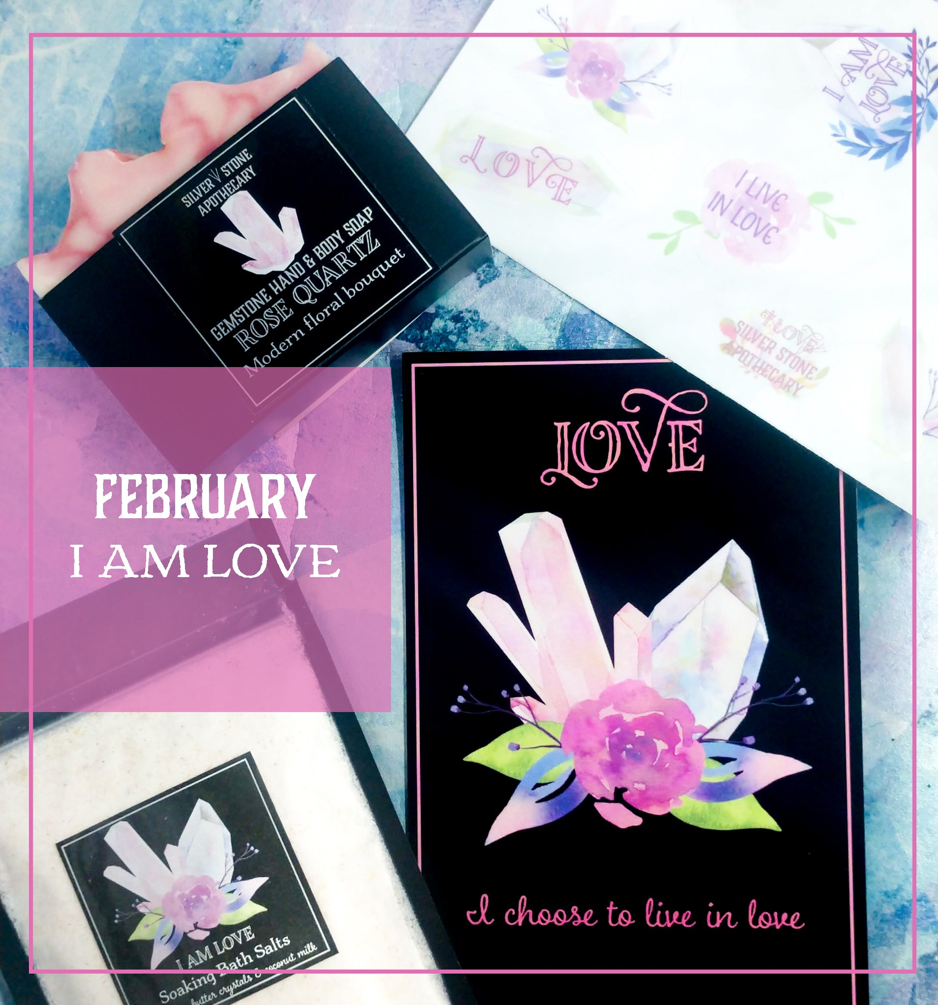 FEBRUARY BOX: I AM LOVE