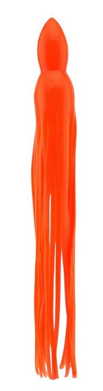 Orange Replacement Lure Skirt, Octopus Style Cousins Tackle