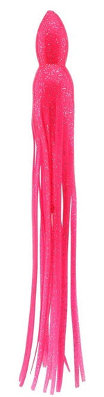 Pink with Glitter Replacement Lure Skirt, Octopus Style Cousins