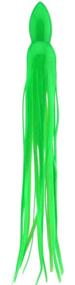 Green Replacement Lure Skirt, Octopus Style
