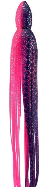 Blue Dot Pink Replacement Lure Skirt, Octopus Style