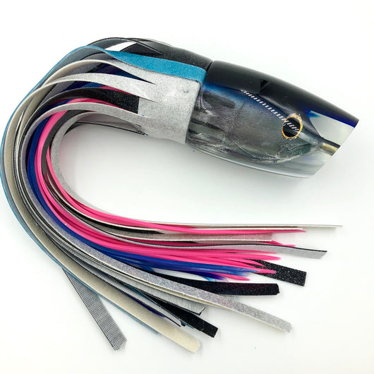 Koya Lures Niiyama Aku Insert Large Poi Dog Purple Top Blue Line Vinyl