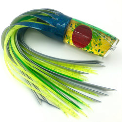 Legendary Lures Super Plunger Special Mahi Shell Vinyl Skirting