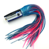 "Koya Lures Small Hardhead 9"" Blue Top Slab Glass Insert Ice blue and Pink"