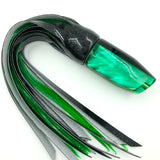 Crampton Plunger Lure Golden Lip MOP Black Top Green Tint Vinyl