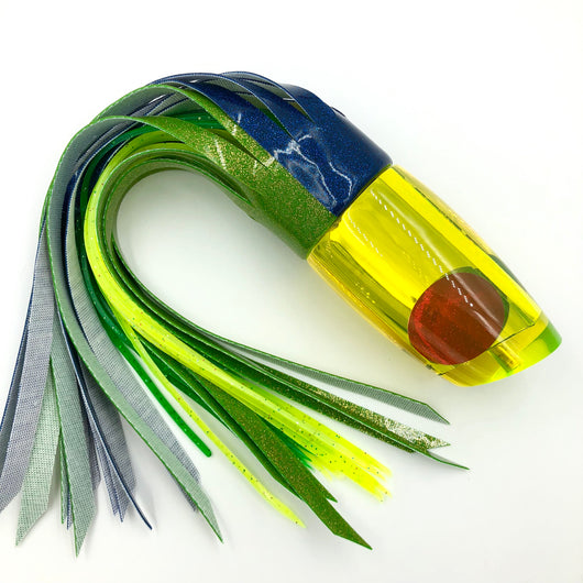 Koya Lures Large Poi Dog Yellow Tint Glass Mirror Mahi