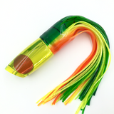 "Koya Lures Medium Poi Dog 14"" Mirror Head Yellow Tint Bleeding Dorado"