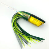 Crampton HoG Lure Golden Lip MOP Green Yellow Double Pour Vinyl