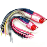 Koya Lures Large Poi Dog Special 3-Color Vinyl Blue Pink with Pink Shell