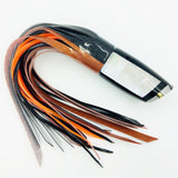 Koya Lures Large 614 Masterpiece Series Black Beauty in Orange and Black