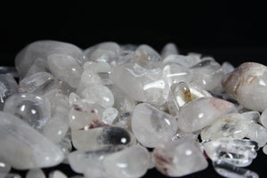 Cristaux de quartz polis no. 155