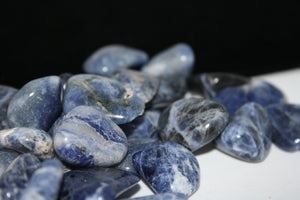 Polished sodalite no.394