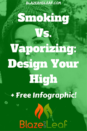 Smoking Vs. Vaporizing: Design Your High...