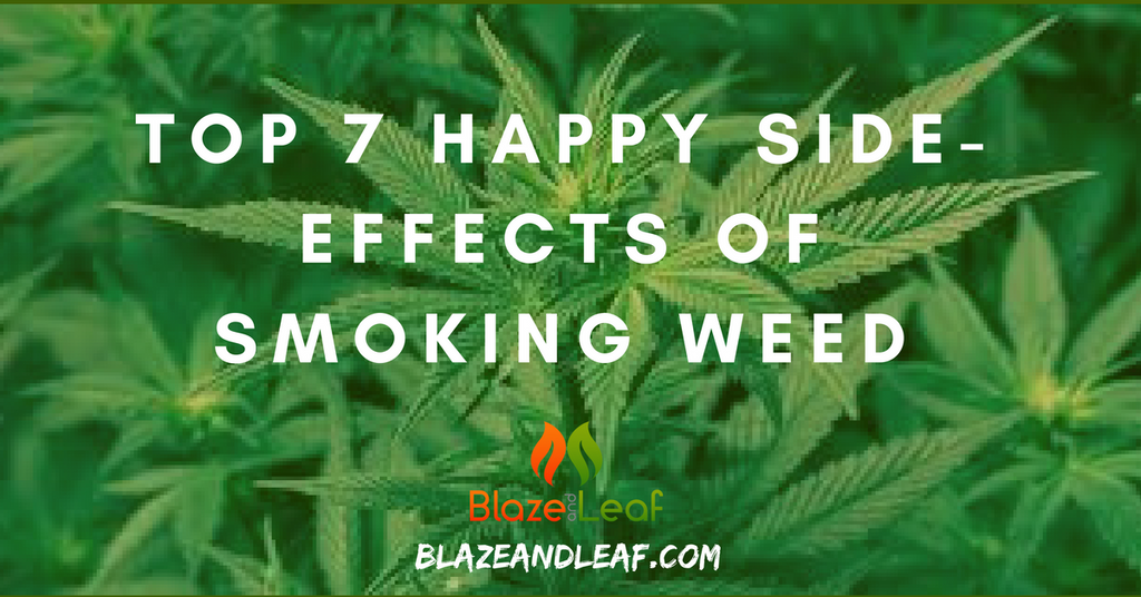 Top 7 Happy Side-effects of Smoking Weed