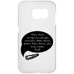 Weed Words Samsung Galaxy S7 Phone Case