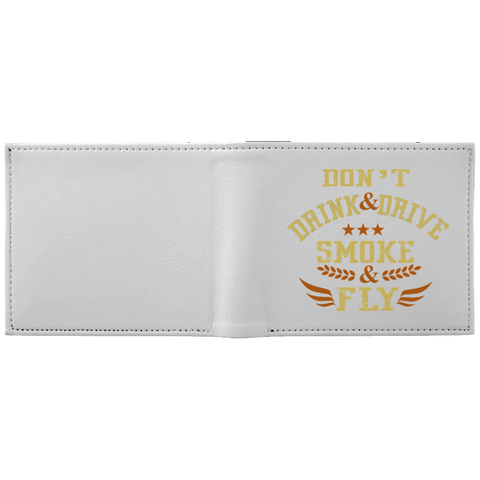 Don't Drink And Drive Wallet