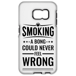 Smoking A Bong Samsung Galaxy S6 Edge Tough Case