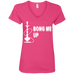 Bong Me Up Ladies V-Neck T-Shirt