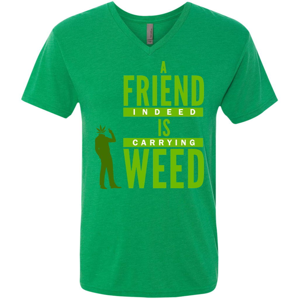 A Friend Indeed Men's  V-Neck T-Shirt