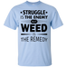Weed Is The Remedy T-Shirt