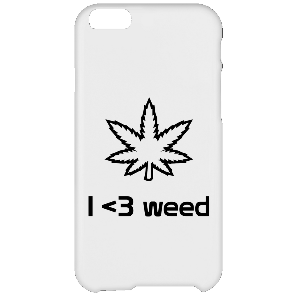 I <3 Weed iPhone 6 Plus Case