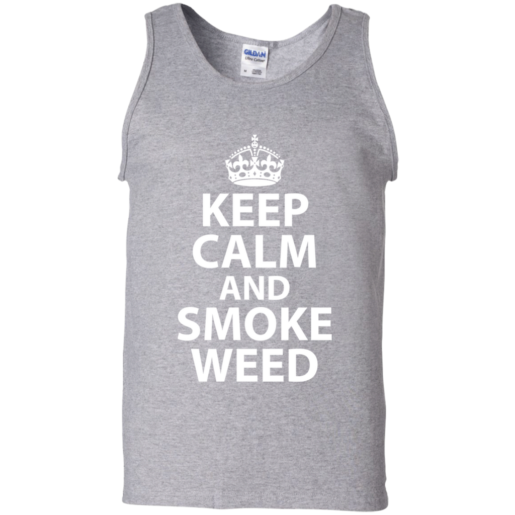 Keep Calm And Smoke Weed Tank