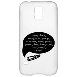 Weed Words Samsung Galaxy S5 Case