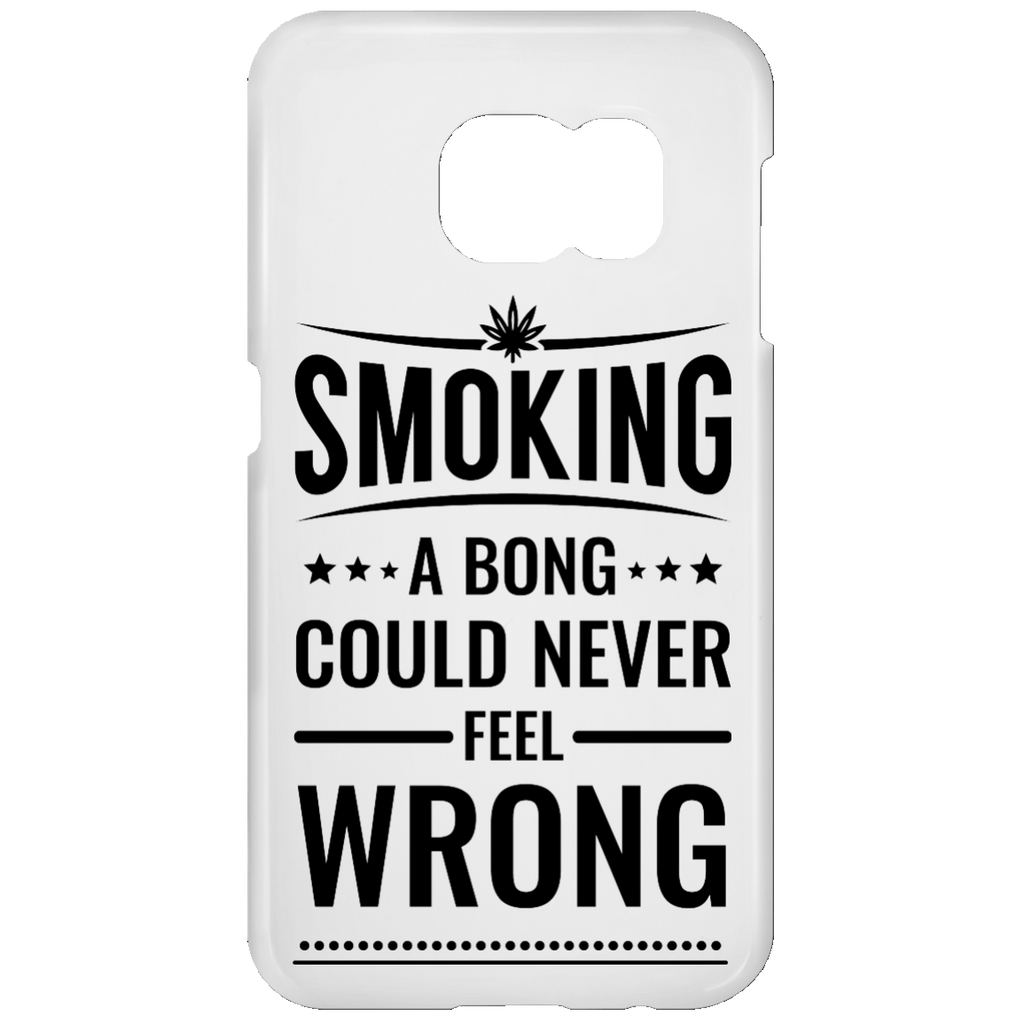 Smoking A Bong Samsung Galaxy S7 Phone Case